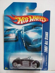 Hot Wheels 2007 Tout Stars Dodge Tomahawk Noir