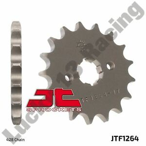 JT-17-Tooth-428-pitch-front-sprocket-for-Honda-CB-CBF-CBR-125-RS-Repsol-RT-RW-R