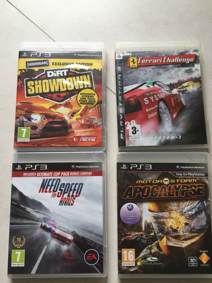 Need for speed, m.m, PS3