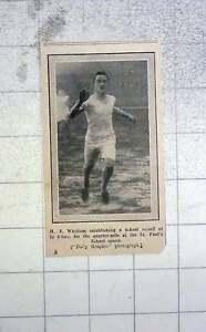 1912-St-Pauls-School-Sports-Record-Mj-Whittam-Quarter-Mile