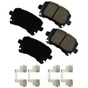 Rr Ceramic Brake Pads  Akebono  EUR1348