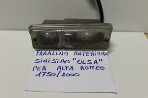 FANALINO ANTERIORE SINISTRO ALFA ROMEO 1750 2 SERIE 2000 BERLINA OLSA