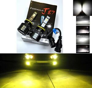LED-Kit-G8-100W-899-3000K-Yellow-Two-Bulbs-Fog-Light-Upgrade-Replacement-Lamp-OE