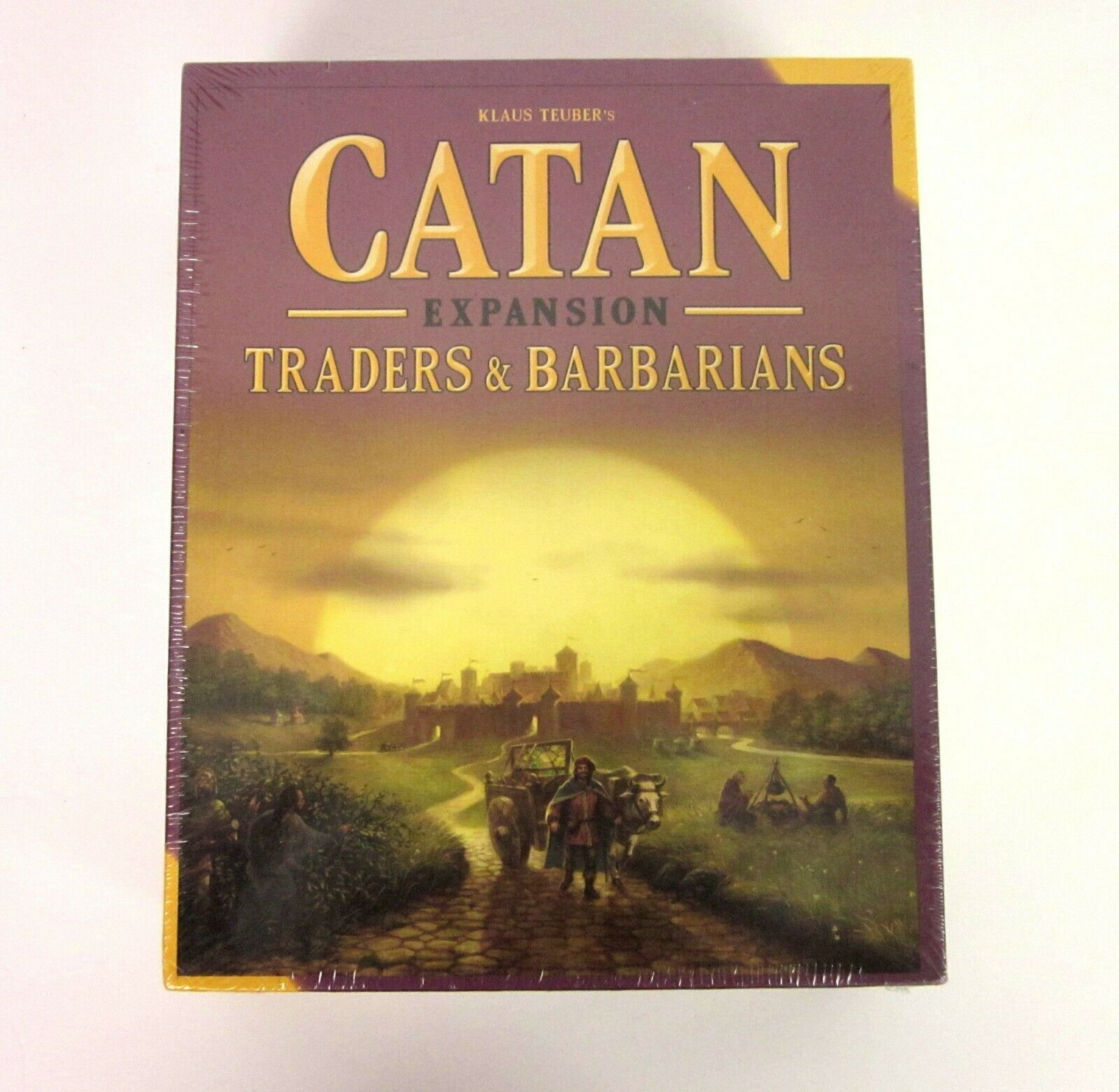 Settlers Of Catan Traders & Barbarians Expansion Mayfair Games New Sealed