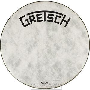 Gretsch Bass Drum Head Fiberskyn 26 With Broadkaster Logo - GRDHFS26B