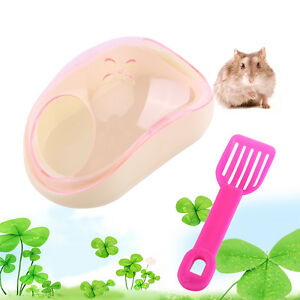 New-Small-Animal-Hamster-Sauna-Sand-Bath-Room-Bathing-Bathroom-Potty-Plastic