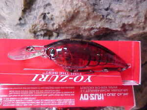 LOT OF 4 Yo-Zuri 3DB PRISM//WAVE MOTION Mid Crank Lure R1106-PSH in PRISM SHAD