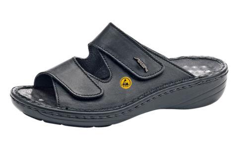 Abeba Berufsschuhe Reflexor® Comfort Clog schwarz ESD 36819 Größe 36-43