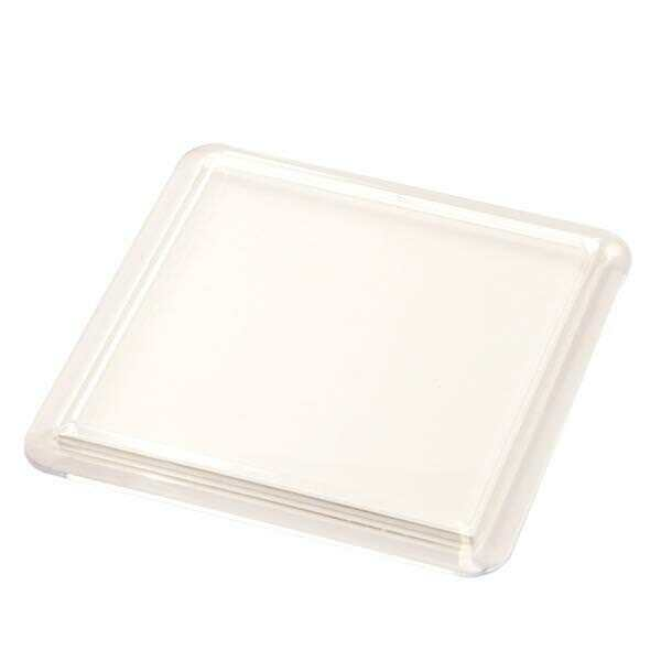 Blank Clear Square Plastic Coasters 90x90mm Insert Size N1 Acrylic Coaster