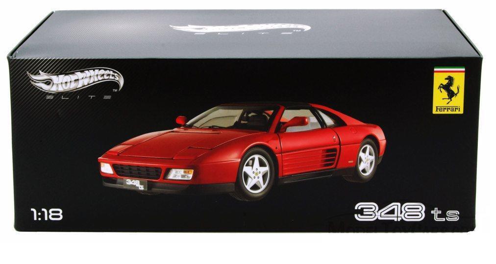 1  18 Hot Wtalons Ferrari 348 Toy Soldier Elite Edition Diecast Voiture Modèle Rouge X5480  au prix le plus bas