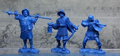 Collectible Plastic Toy Soldiers Publius European knights set 1:32 54 mm NEW