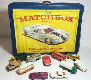 1968-caso-de-Coleccionistas-Matchbox-48-coche-incluye-10-Autos-Matchbox-Original-Vintage