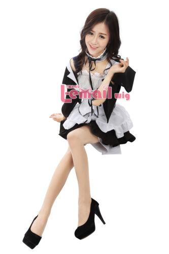 Kaichou Wa Maid-Sama Anime Ayuzawa Misaki Maid Cosplay Costume Dress Hearwear