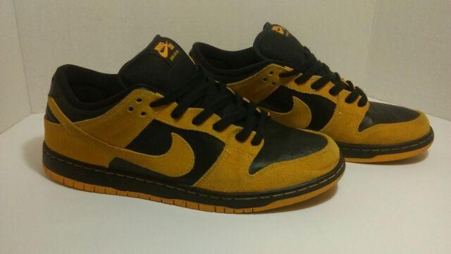 "half off 4ff42 b3c80 Nike SB Dunk Low Pro ""Iowa"" University Gold 304292-706 Men's SZ 12"
