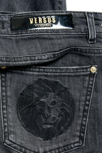Versace Versus Men/'s Gray Stretch Skinny Jeans Size 30 31 32 33 34