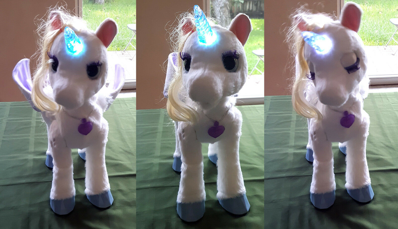 FurReal Friends StarLily My Magical Unicorn Horse Star Lilly Lily Fur Real works