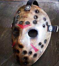 El viernes 13TH FVJ, sin daños versión limpia, réplica Máscara de Hockey, horror. Prop.