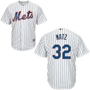 quality design 31bcf e93e6 Details about New York Mets Jersey Steven Matz #32 MLB Youth Boys Cool Base  Home