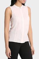 Tokito Lace Line Sleeveless Shirt Stone