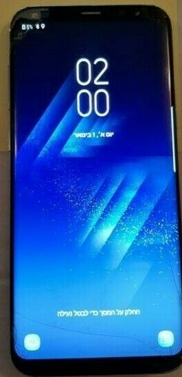 Samsung Galaxy S8+ SM G955 Cracked OEM LCD Touch Digitizer Screen Display