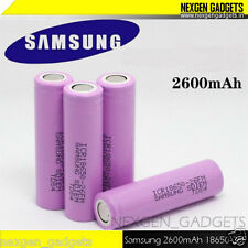 Genuine Samsung 2600mAh 3.7V 18650 Rechargeable Lithium Battery - Pink for Solar