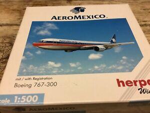 Herpa Wings - Boeing 767-300 AeroMexico - Knetzgau, Deutschland - Herpa Wings - Boeing 767-300 AeroMexico - Knetzgau, Deutschland