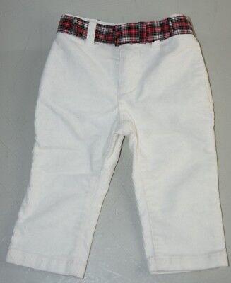 Baby & Toddler Clothing Purposeful Nuovo W Etichette Ralph Lauren Bambino Velluto A Coste Bianco Pantaloni Con Clearance Price
