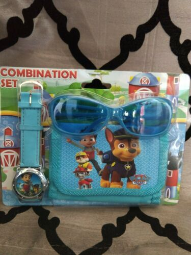 wallet and sunglasses Paw patrol  watch