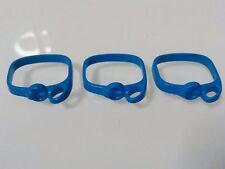 PLAYMOBIL LOTE 3U CINTURONES AZULES AZUL BLUE CINTURON BELT CABALLERO KNIGHT
