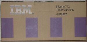 IBM Infoprint 12 Black Toner Cartridge 01P6897