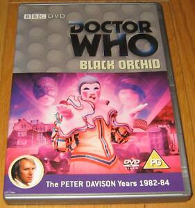 Doctor-Who-DVD-Black-Orchid-Excellent-Condition