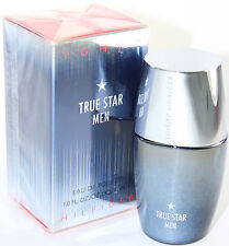TRUE STAR BY TOMMY HILFIGER FOR MEN - 1.0 OZ/30 ML EDT SPRAY IN BOX - RARE