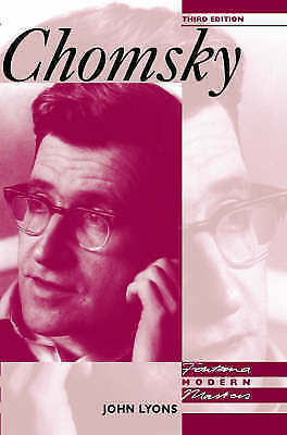 Fontana Modern Masters – Chomsky, Lyons, John, Very Good Book