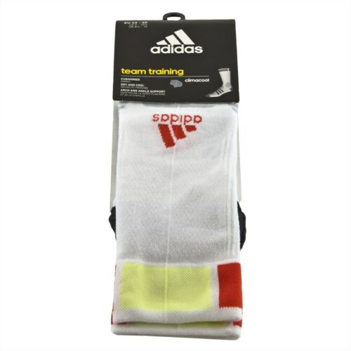 adidas Trainings-Socken Strümpfe in weiß//schwarz// gelb//orange R TT LGT TC 1PP
