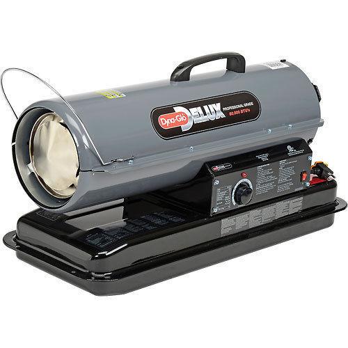 Kerosene Portable Heater 80k Btu Multi Fuel Thermostat