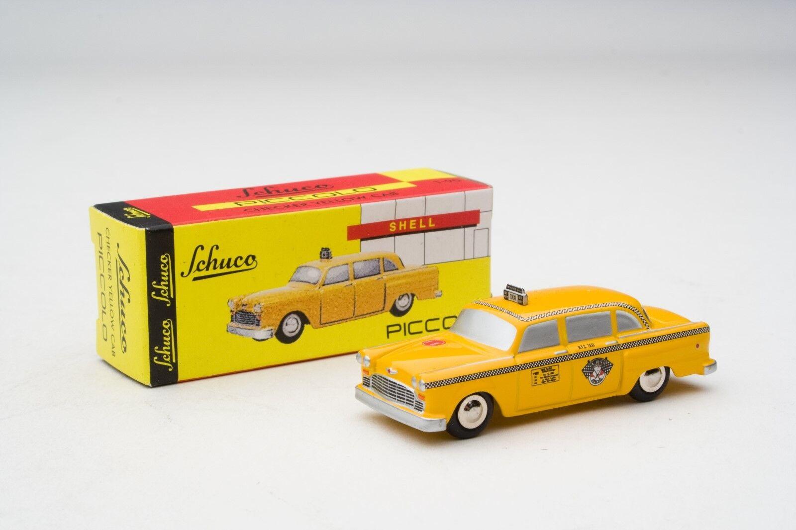 Con precio barato para obtener la mejor marca. Schuco Piccolo   Checker Marathon-New York York York Taxi Cab   artículo  SHU05915  el mejor servicio post-venta