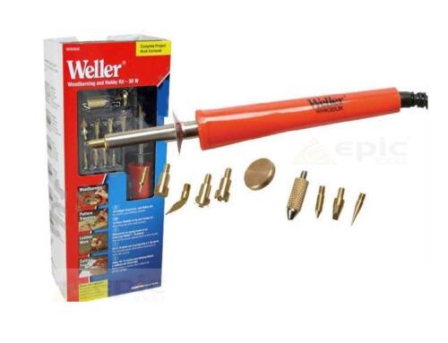WELLER 30w Legna Pen /& pirografia SALDATURE HOBBY Tool Kit 240v whk30uk