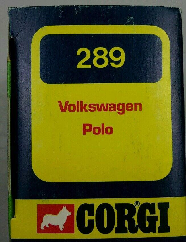 NEW Vintage Corgi 289 VOLKSWAGEN VOLKSWAGEN VOLKSWAGEN POLO db4b7b