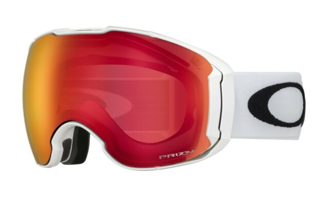 ec4099fd009 Oakley Airbrake XL Polished White Prizm Torch Iridium SNOW GOGGLE OO7071-08