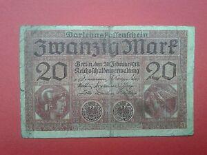 Germany 20 Zwanzigmark 1918 - Skierbieszów, Polska - Germany 20 Zwanzigmark 1918 - Skierbieszów, Polska