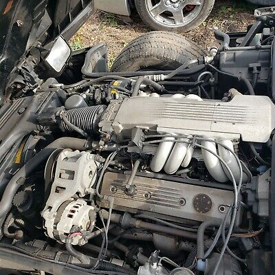 1987 Corvette C4 L98 Engine with ECM and WIRING 35k Low ...