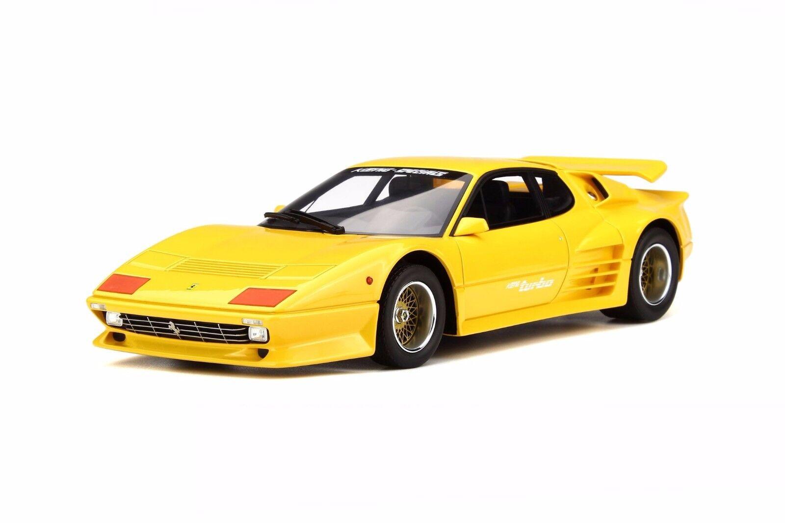 GT Spirit 1 18 1983 Koenig Especial Ferrari 512 Bbi Turbo giallo GT702