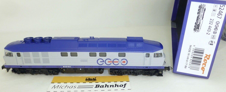 Roco 52467 Br 232 443-2 Ecco Rail Sonido Digital H0 1 87 Nuevo Emb. Orig. KA3µ