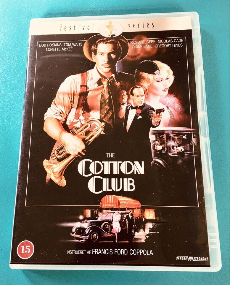 The Cotton Club, DVD, drama