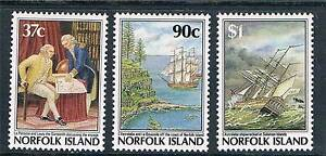 Norfolk-Is-1987-Bicentenary-of-Settlement-SG-433-5-MNH