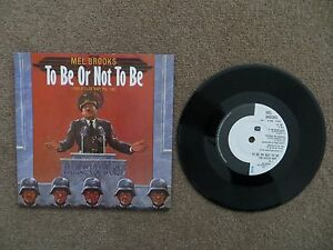 MEL BROOKS  TO BE OR NOT TO BE THE HITLER RAP 7034 VINYL SINGLE 1983 IS158 - Solihull, United Kingdom - MEL BROOKS  TO BE OR NOT TO BE THE HITLER RAP 7034 VINYL SINGLE 1983 IS158 - Solihull, United Kingdom