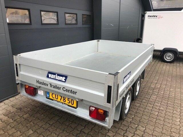 Tiptrailer, Variant 2015 T2 Årg. 2018, lastevne (kg): 1380