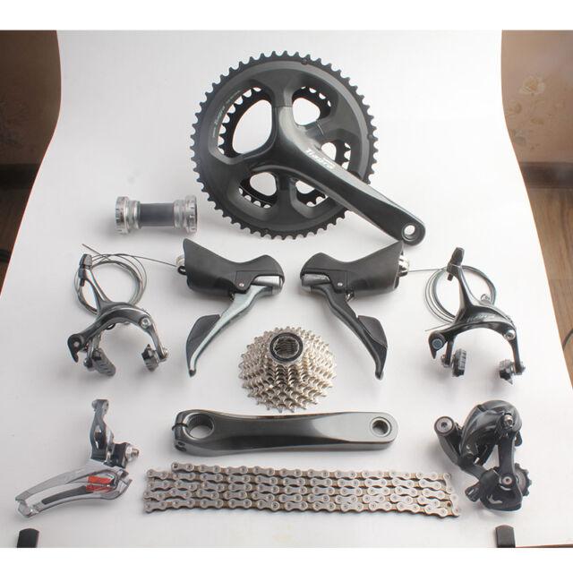 Shimano TIAGRA 4700 20s 2x10 Speed 52/36 170mm Road Bicycle Groupset Bike Kit