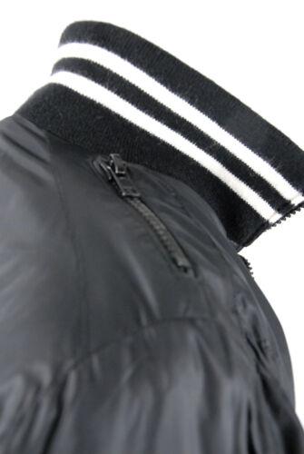 Rare in In trapuntata S Blouson Non imbottito uomo Giacca Black Jacket Raer nylon da rRHwq7rT
