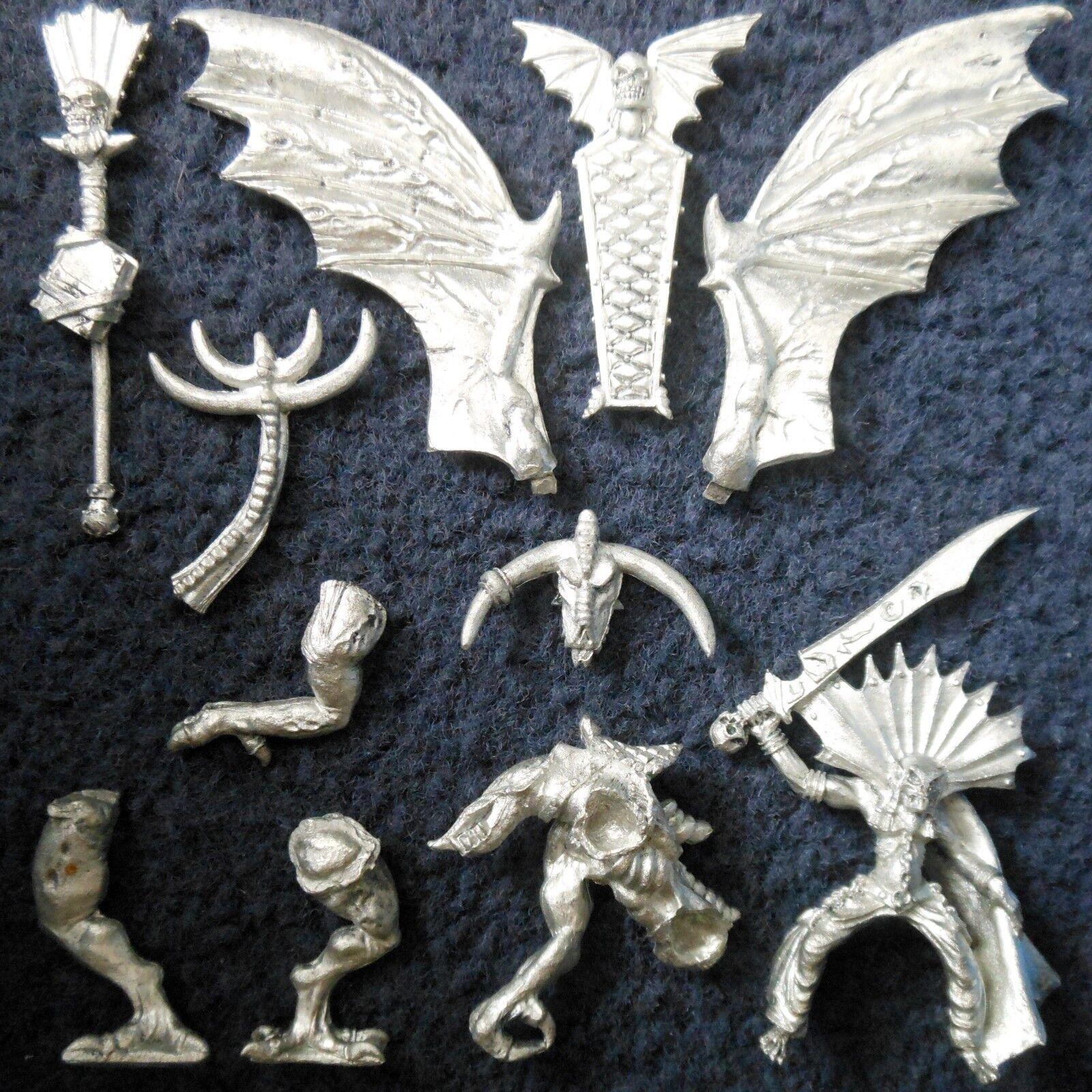 2000 muertos muertos muertos vivientes MELKHIOR EN PESADILLA ALADA NECRARCH Vampiro Lord Citadel Warhammer  de moda